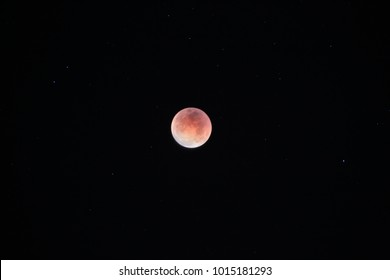 January 31, 2018 Rare Super Blue Blood Moon lunar eclipse, three lunar phenomena in one show, super moon, blue moon and total lunar eclipse. Most downloaded moon photo