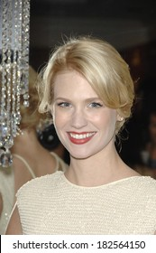 January Jones at The 10th Annual Costume Designers Guild Awards, Beverly Wilshire Hotel, Los Angeles, CA, February 19, 2008