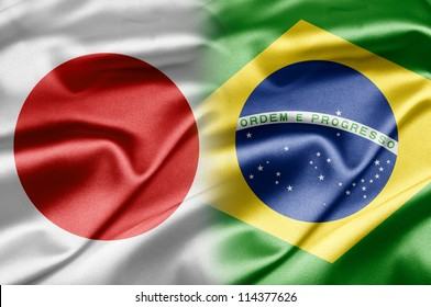 Japan and Brazil