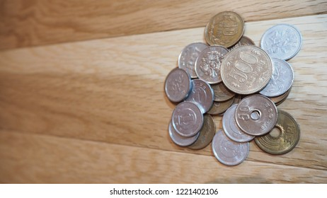 Japan Coins currency (code: JPY ,Japanese yen)