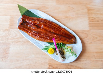 Japan eel grill