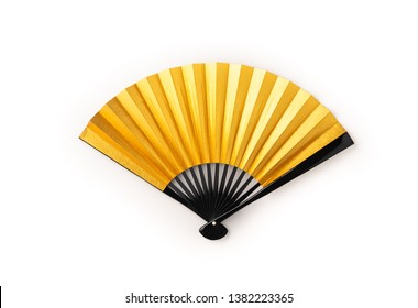 Japan fan isolated white background