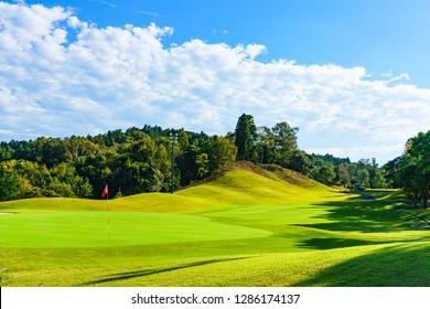 Japan golf course