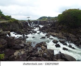 Japan Kagoshima  Isa  sogi waterfall