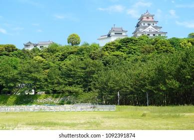 japan karatsu castle