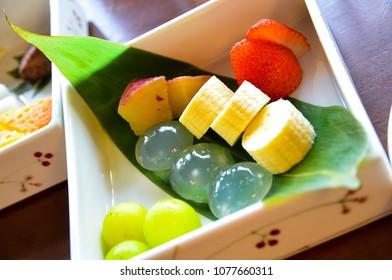 Japan Kyoto city Matcha sweets dessert