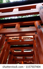 Japan Kyoto Red Torii Fushimi Inari Shrine