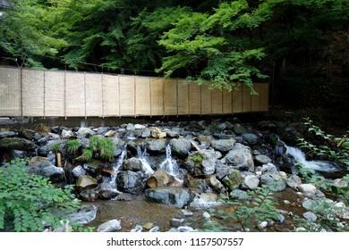 Japan Kyoto River side