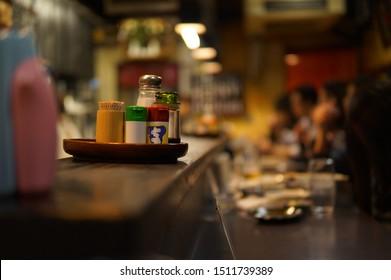 Japan Kyoto Yakitori Izakaya Table