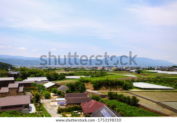 Japan - Kyushu - Oita prefecture 2012 : View Of Rural Area In Oita prefecture Japan
