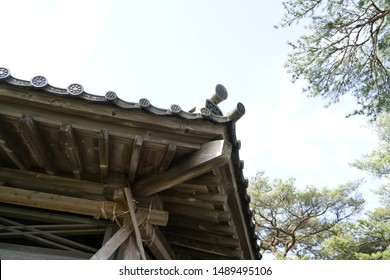 Japan Miyagi Matsushima Oshima   Zazendo of Kumoi Zen master,Nihonsankei Matsushima