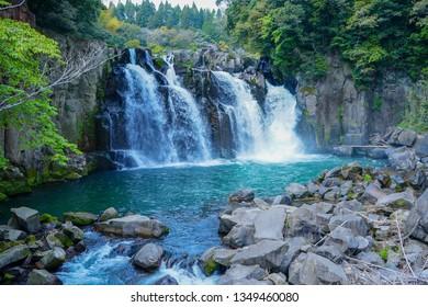 Japan Miyazaki Sekinoo waterfall