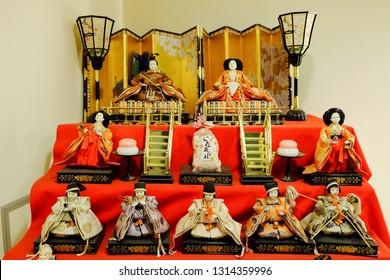 JAPAN, October 26, 2015 : Hina Matsuri or Momo-no-Sekku or Girl's Festival or Doll's Festival of Japanese