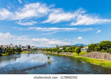 Japan and the sky and the river