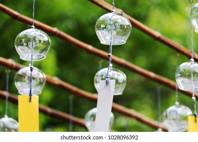 Japan style wind bell / wind chime in Summer