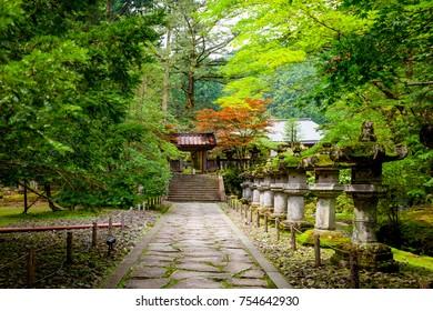 Japan - Temple Garden - Nikko