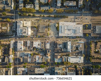 Japan Town San Francisco City Block Overhead Aerial