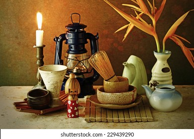 Japan tradition tea ceremony