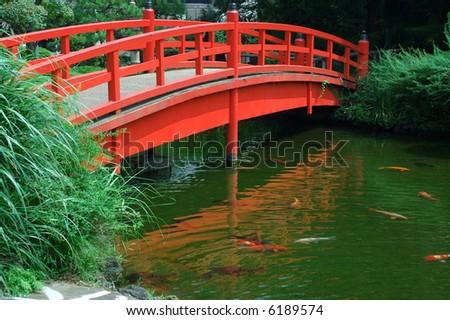 Japan Zen Garden Bridge Stock Photo Edit Now 6189574 Shutterstock