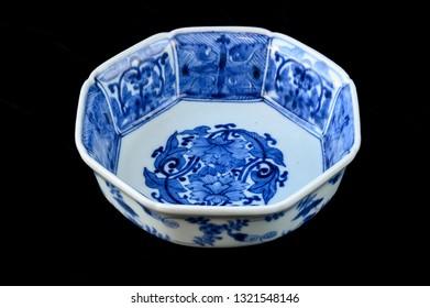 Japanese antique Imari porcelain from the Edo Era