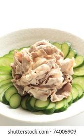 """Japanese Appetizer Pork salad """" Reishabu"""""""