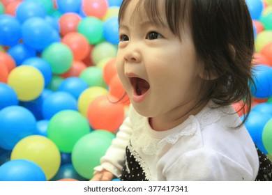 Boy licking balls female