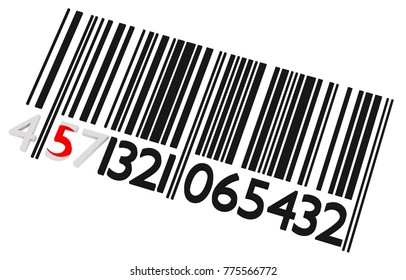 Japanese barcode on a white background