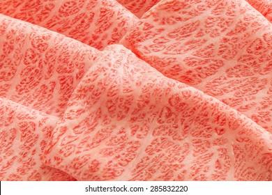Japanese beef marbled beef expansion sukiyaki