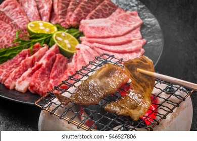 Japanese beef roasted meat