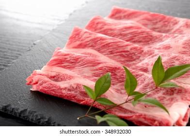 japanese beef for sukiyaki