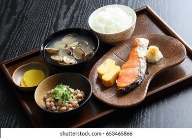 Japanese breakfast - Japanese cuisine