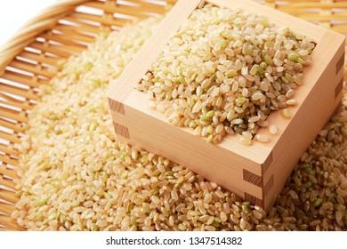Japanese brown rice