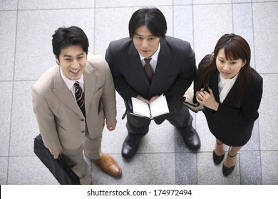 Japanese Business workers