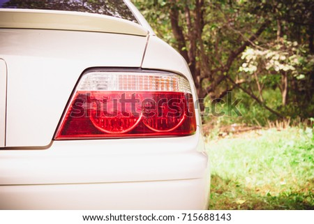 Japanese car Toyota Chaser