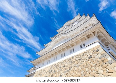 Japanese Castle with clear sky