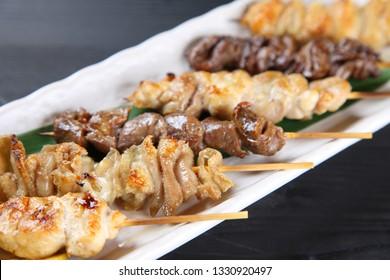 Japanese chicken barbecue YAKITORI
