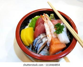 Japanese Chirashi Bowl