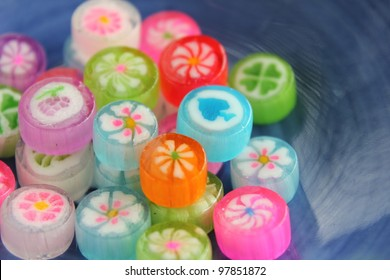 Japanese colorful candy