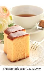 Japanese confection, Nagasaki Sponge Cake castela