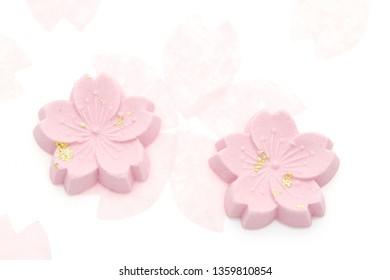 "Japanese confectionery, sweets made of handmade sugar called ""wasanbon"""