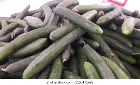 The japanese cucumber is a widely cultivated plant in the gourd family, Cucurbitaceae. The length is about the size between English cucumber and Persian cucumber.