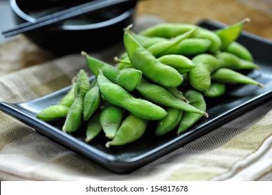 Japanese cuisine Edamame bean