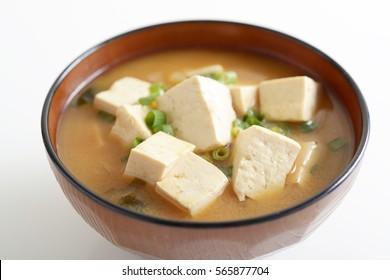 Japanese cuisine, Miso soup