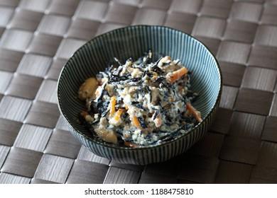 Japanese cuisine, Shiraae,white salad