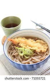 Japanese cuisine, Tempura Soba noodles