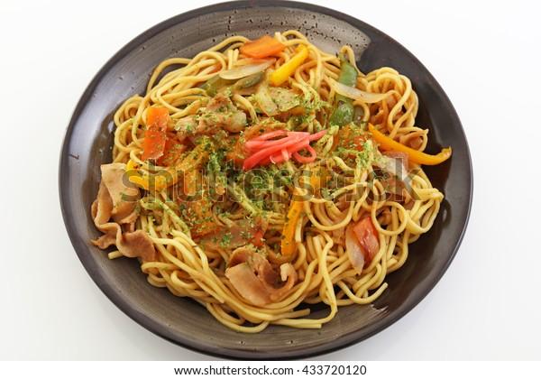 Japanese cuisine  Yakisoba