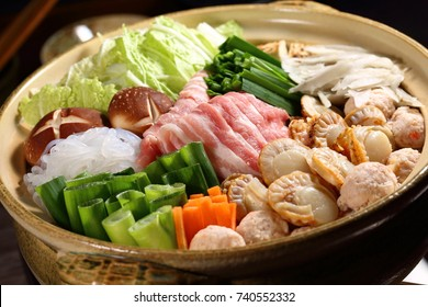 Japanese cuisine,Chanko-nabe,hot pot dish