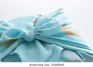 Japanese culture, Furoshiki Wrapped for summer gift image