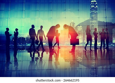 Japanese Culture Respect Business People Corporate Concept