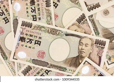 Japanese currency yen bank notes. The yen is the official currency of Japan. It is the third most traded currency in the foreign exchange market after the United States dollar and the euro